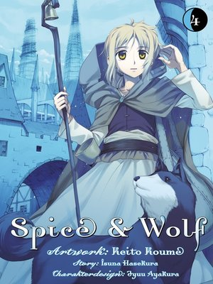 cover image of Spice & Wolf, Band 4