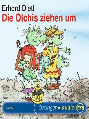 cover image of Die Olchis ziehen um