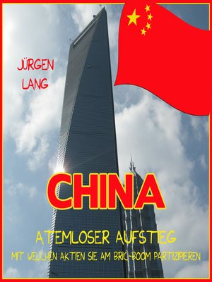 cover image of CHINA--Atemloser Aufstieg