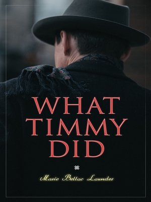 cover image of What Timmy Did