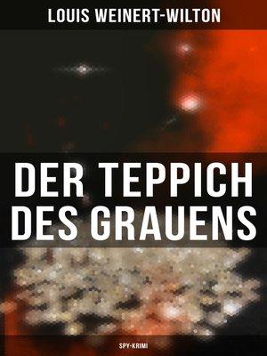cover image of Der Teppich des Grauens (Spy-Krimi)