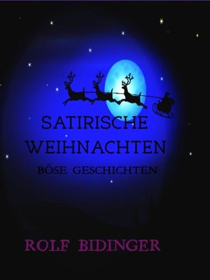 cover image of SATIRISCHE WEIHNACHTEN
