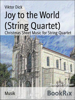 cover image of Joy to the World (String Quartet)