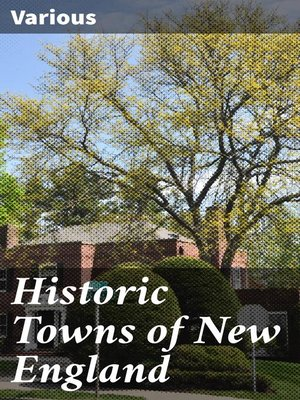 cover image of Historic Towns of New England