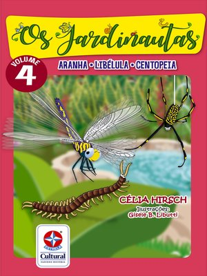 cover image of Os Jardinautas 4