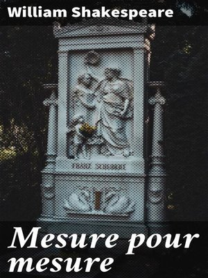 cover image of Mesure pour mesure
