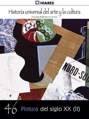 cover image of Pintura del siglo XX--II