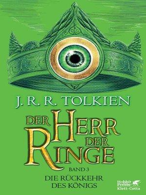 cover image of Der Herr der Ringe-- Die Rückkehr des Königs