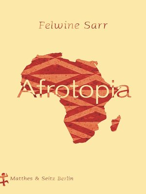 cover image of Afrotopia