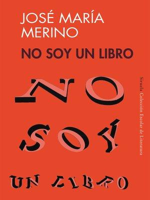 cover image of No soy un libro