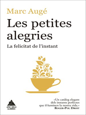 cover image of Les petites alegries