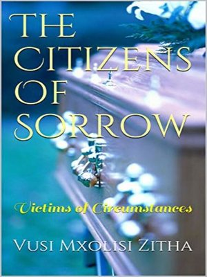 cover image of The Citizens of Sorrow