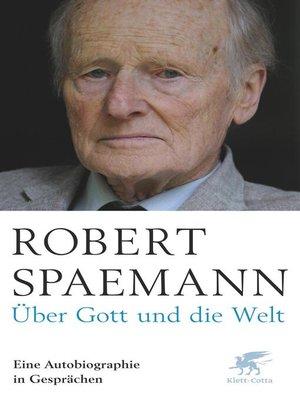 cover image of Über Gott und die Welt