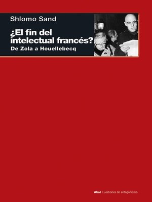 cover image of ¿El fin del intelectual francés?
