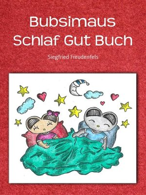 cover image of Bubsimaus Schlaf Gut Buch