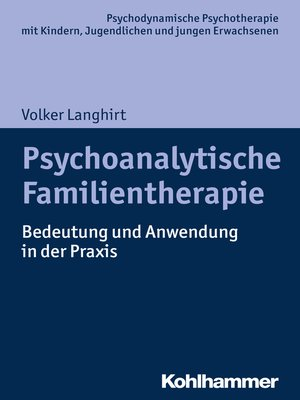 cover image of Psychoanalytische Familientherapie
