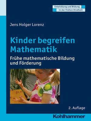 cover image of Kinder begreifen Mathematik