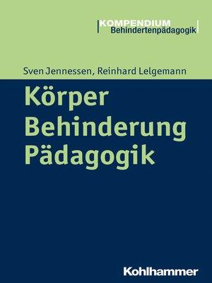 cover image of Körper--Behinderung--Pädagogik