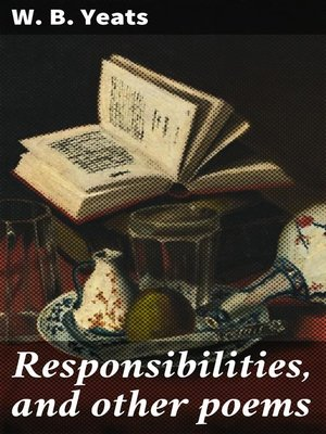 cover image of Responsibilities, and other poems