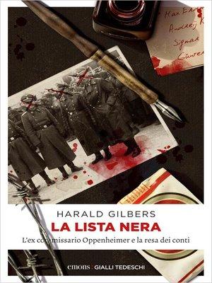 cover image of La lista nera