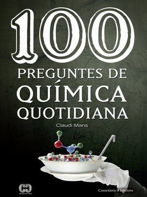 cover image of 100 preguntes de química quotidiana