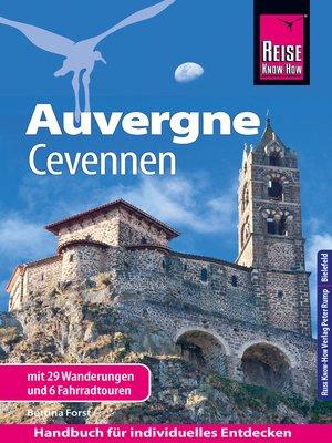cover image of Reise Know-How Reiseführer Auvergne, Cevennen