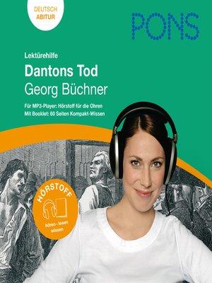 cover image of PONS Lektürehilfe--Georg Büchner, Dantons Tod