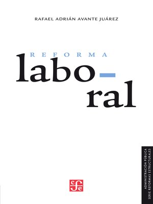 cover image of La reforma laboral