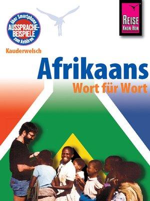 cover image of Afrikaans--Wort für Wort