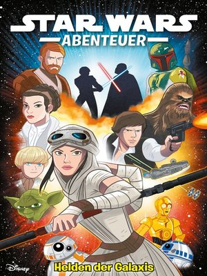 cover image of Star Wars Abenteuer--Helden der Galaxis