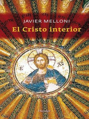 cover image of El cristo interior