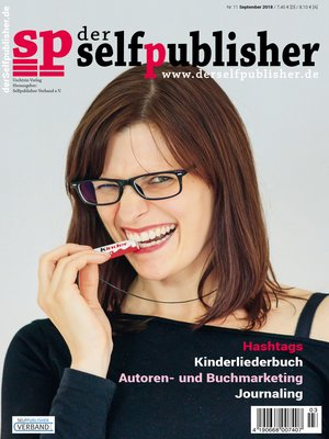 cover image of der selfpublisher 11, 3-2018, Heft 11, September 2018
