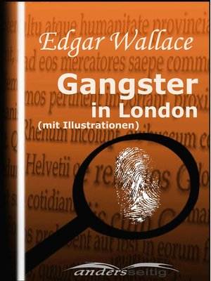 cover image of Gangster in London (mit Illustrationen)