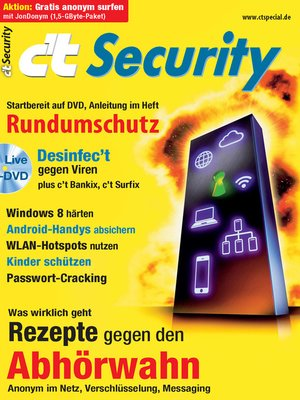 cover image of c't Security 2013