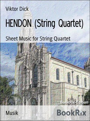 cover image of HENDON (String Quartet)