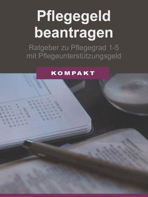 cover image of Pflegegeld beantragen