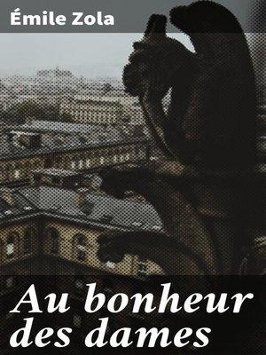 cover image of Au bonheur des dames