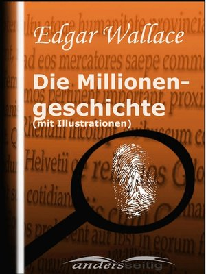 cover image of Millionengeschichte (mit Illustrationen)