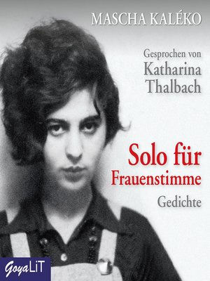 cover image of Solo für Frauenstimme