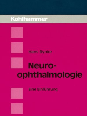 cover image of Neuroophthalmologie