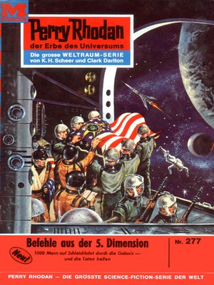 cover image of Perry Rhodan 277