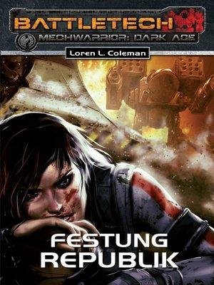 cover image of Dark Age 18: Festung Republik