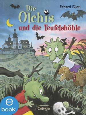 cover image of Die Olchis und die Teufelshöhle