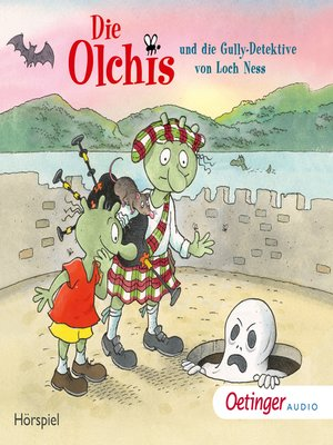 cover image of Die Olchis und die Gully-Detektive von Loch Ness