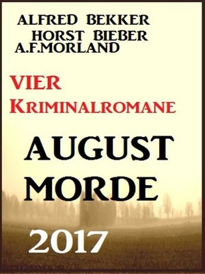 cover image of Vier Kriminalromane