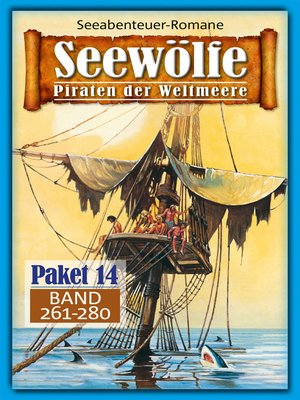 cover image of Seewölfe Paket 14