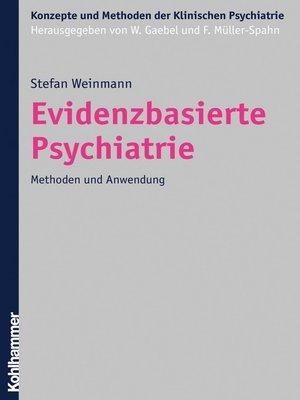 cover image of Evidenzbasierte Psychiatrie