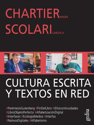 cover image of Cultura escrita y textos en red