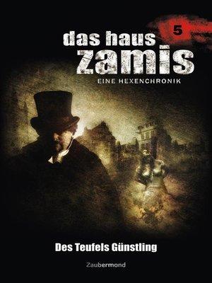 cover image of Das Haus Zamis 5--Des Teufels Günstling
