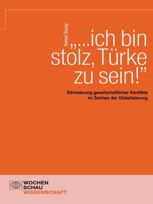 """cover image of """"...ich bin stolz, Türke zu sein!"""""""